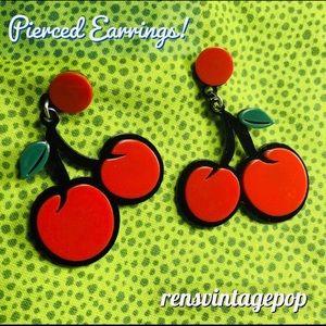 Kawaii Cherry Earrings
